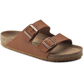 Birkenstock Arizona Sandals Birko-Flor Saddle Matt Vegan Regular Men, marrón